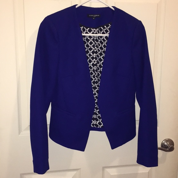 8e9fa3382e Mario Serrani Jackets & Coats | Ladies Blazer In Royal Blue | Poshmark